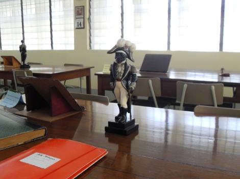 Toussaint Louverture, haitianischer Revolutionär, Bibliothèque Haïtienne des Frères de l'Instruction Chrétienne, Port-au-Prince, Haiti, © J. Ehrmann